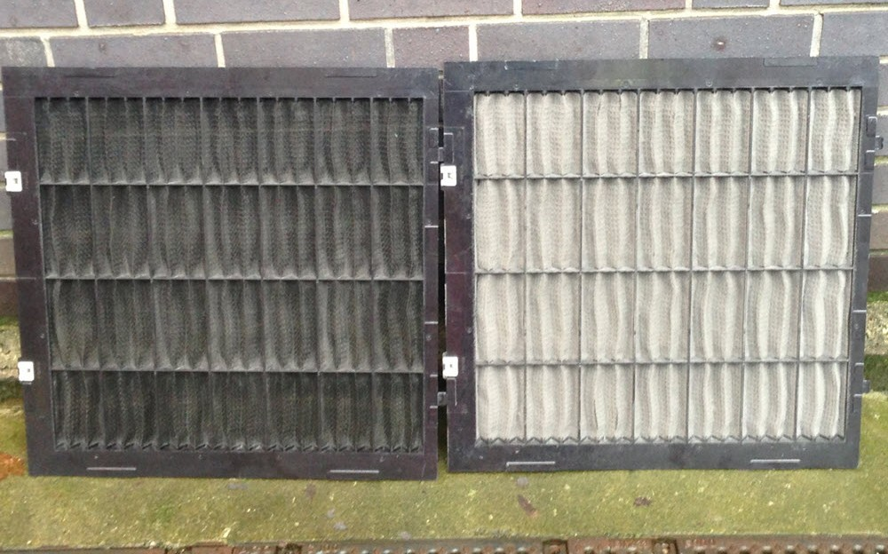 service, replace air conditioning Filters
