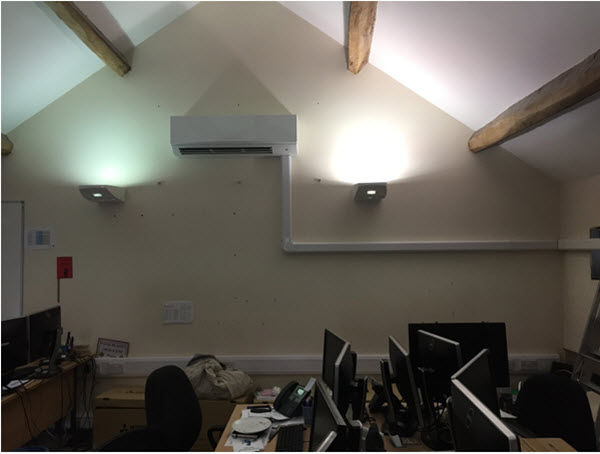 Converted Barn Air Conditioning