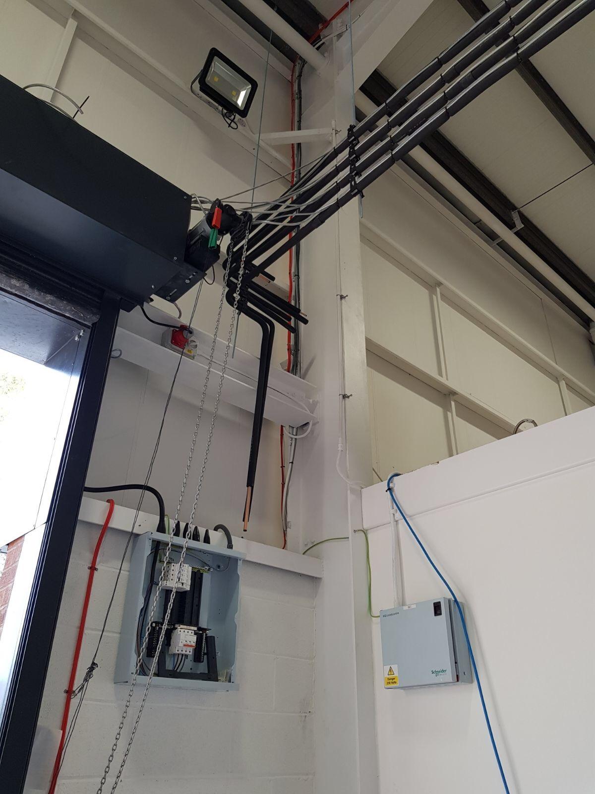 Installation Of Four Way Blow Mitsubishi Electric Split